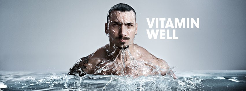 zlatan swim vitamin well